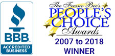BBB and People's Choice Award